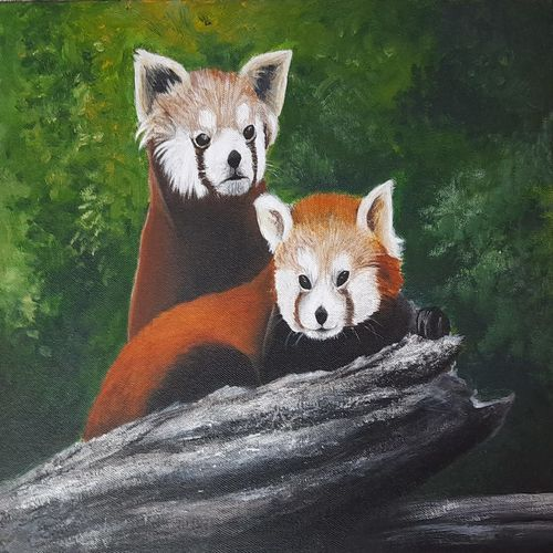 nature, 12 x 16 inch, swarnali ghosh,12x16inch,canvas,wildlife paintings,acrylic color,GAL03011942313