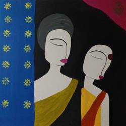 us, 24 x 18 inch, pallavi barua,24x18inch,canvas,contemporary paintings,paintings for bedroom,paintings for bedroom,acrylic color,GAL03021342427
