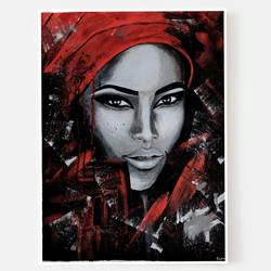 independent, 12 x 16 inch, suma sirisha,12x16inch,canvas,paintings,abstract paintings,portrait paintings,paintings for dining room,paintings for living room,paintings for bedroom,acrylic color,GAL03021542431