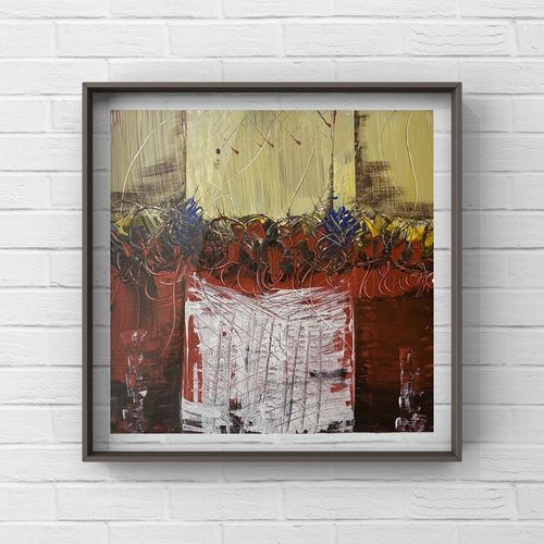 modern art series: depth , 16 x 16 inch, deepika gautam,16x16inch,canvas,paintings,abstract paintings,abstract expressionism paintings,contemporary paintings,paintings for dining room,paintings for living room,paintings for bedroom,paintings for office,paintings for bathroom,paintings for hotel,paintings for kitchen,acrylic color,GAL02401042479