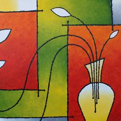 abstract painting- interior design, 30 x 24 inch, indiarts india,30x24inch,canvas,paintings,abstract paintings,art deco paintings,contemporary paintings,paintings for dining room,paintings for living room,paintings for bedroom,paintings for office,paintings for hotel,paintings for kitchen,acrylic color,GAL02992042488