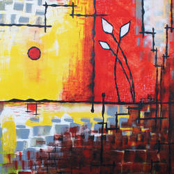 colourful abstract painting, 30 x 24 inch, indiarts india,30x24inch,canvas,paintings,abstract paintings,art deco paintings,contemporary paintings,paintings for dining room,paintings for living room,paintings for bedroom,paintings for office,paintings for bathroom,paintings for hotel,acrylic color,GAL02992042490