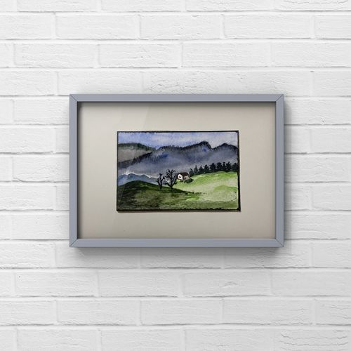 a tiny miniature watercolour painting of landscape/original painting/dollhouse painting , 3 x 2 inch, deepika gautam,3x2inch,renaissance watercolor paper,cityscape paintings,landscape paintings,conceptual paintings,still life paintings,nature paintings | scenery paintings,photorealism,realism paintings,miniature painting.,paintings for dining room,paintings for living room,paintings for bedroom,paintings for office,paintings for kids room,paintings for hotel,paintings for kitchen,paintings for school,paintings for hospital,paintings for dining room,paintings for living room,paintings for bedroom,paintings for office,paintings for kids room,paintings for hotel,paintings for kitchen,paintings for school,paintings for hospital,watercolor,paper,GAL02401042555
