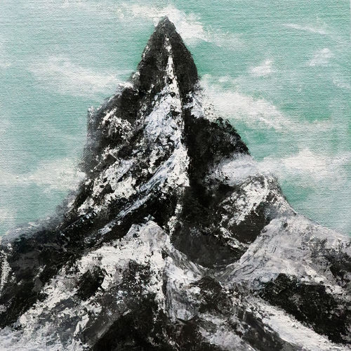 only earth and mountains lives long., 16 x 12 inch, vaibhav prabu,16x12inch,canvas,paintings,landscape paintings,paintings for dining room,paintings for living room,paintings for bedroom,paintings for office,paintings for kids room,paintings for hotel,paintings for kitchen,paintings for school,paintings for hospital,acrylic color,GAL03041242584