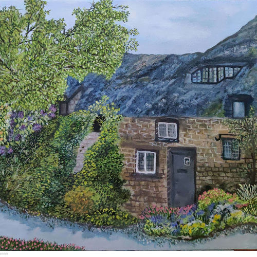 green cottage, 12 x 12 inch, kangana wadhwa,12x12inch,canvas,cityscape paintings,landscape paintings,conceptual paintings,nature paintings | scenery paintings,expressionism paintings,photorealism paintings,photorealism,contemporary paintings,realistic paintings,paintings for dining room,paintings for living room,paintings for bedroom,paintings for office,paintings for bathroom,paintings for kids room,paintings for hotel,paintings for kitchen,paintings for school,paintings for hospital,paintings for dining room,paintings for living room,paintings for bedroom,paintings for office,paintings for bathroom,paintings for kids room,paintings for hotel,paintings for kitchen,paintings for school,paintings for hospital,oil color,GAL02266942600