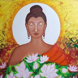 enlightenment of buddha , 36 x 36 inch, sheetal chaudhary,36x36inch,canvas,abstract paintings,buddha paintings,figurative paintings,flower paintings,modern art paintings,religious paintings,portrait paintings,nature paintings | scenery paintings,abstract expressionism paintings,realism paintings,paintings for dining room,paintings for living room,paintings for bedroom,paintings for office,paintings for kids room,paintings for hotel,paintings for kitchen,paintings for school,paintings for hospital,paintings for dining room,paintings for living room,paintings for bedroom,paintings for office,paintings for kids room,paintings for hotel,paintings for kitchen,paintings for school,paintings for hospital,acrylic color,GAL01560342618