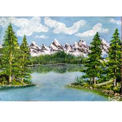 white splendor, 16 x 12 inch, parul mathur,16x12inch,ivory sheet,paintings,landscape paintings,nature paintings | scenery paintings,illustration paintings,realistic paintings,paintings for dining room,paintings for living room,paintings for bedroom,paintings for office,paintings for bathroom,paintings for kids room,paintings for hotel,paintings for kitchen,paintings for school,paintings for hospital,acrylic color,paper,GAL0602542641