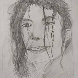 mj michael jackson, 12 x 16 inch, dharna ramchandani,12x16inch,ivory sheet,drawings,figurative drawings,fine art drawings,portrait drawings,paintings for hotel,charcoal,graphite pencil,paper,GAL03014442657