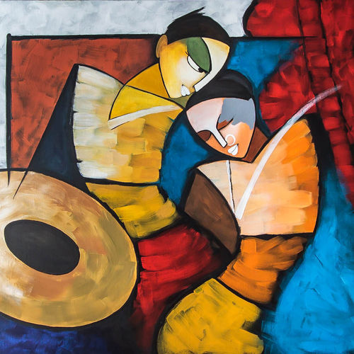 piscasso , 36 x 60 inch, sunita  singh,36x60inch,canvas,abstract paintings,acrylic color,oil color,pastel color,GAL0644042670