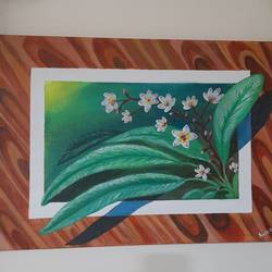 3d painting, 14 x 22 inch, preeti raut,14x22inch,canvas,paintings,flower paintings,conceptual paintings,paintings for living room,paintings for bedroom,acrylic color,GAL03044842678