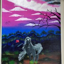 horse of the dawn, 14 x 18 inch, juhi iyer,14x18inch,canvas,paintings,wildlife paintings,landscape paintings,animal paintings,horse paintings,paintings for dining room,paintings for living room,paintings for bedroom,paintings for office,paintings for bathroom,paintings for kids room,paintings for hotel,paintings for kitchen,paintings for school,paintings for hospital,paintings for dining room,paintings for living room,paintings for bedroom,paintings for office,paintings for bathroom,paintings for kids room,paintings for hotel,paintings for kitchen,paintings for school,paintings for hospital,acrylic color,GAL03017542744