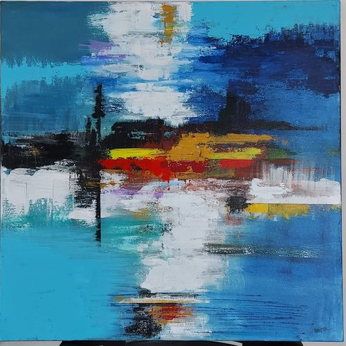 abstract , 30 x 30 inch, kshipra pandit,30x30inch,canvas,abstract paintings,paintings for living room,paintings for bedroom,paintings for office,paintings for living room,paintings for bedroom,paintings for office,acrylic color,GAL03046942745