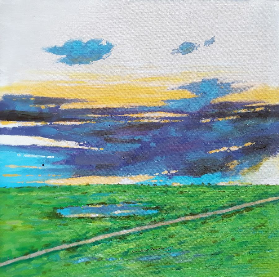 Good morning with my way landscape 2