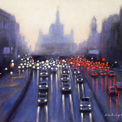 a beautiful city in the beautiful morning and rainy season , 13 x 10 inch, sandeep rawal ,13x10inch,thick paper,paintings,cityscape paintings,landscape paintings,contemporary paintings,realistic paintings,paintings for dining room,paintings for living room,paintings for bedroom,paintings for office,paintings for bathroom,paintings for kids room,paintings for hotel,paintings for kitchen,paintings for school,paintings for hospital,acrylic color,GAL0251142753
