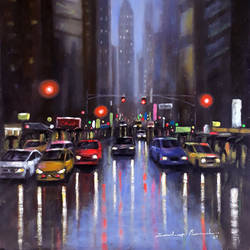 beautiful bright city and rainy season , 15 x 10 inch, sandeep rawal ,15x10inch,thick paper,paintings,cityscape paintings,landscape paintings,contemporary paintings,realistic paintings,paintings for dining room,paintings for living room,paintings for bedroom,paintings for office,paintings for bathroom,paintings for kids room,paintings for hotel,paintings for kitchen,paintings for school,paintings for hospital,acrylic color,GAL0251142754