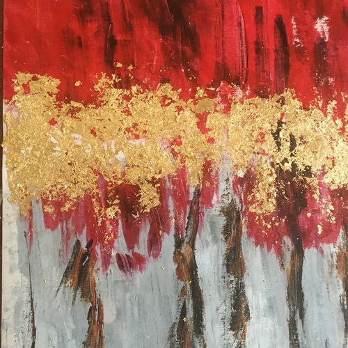 golden trees on red background , 14 x 20 inch, debapriya bhattacharya,14x20inch,canvas,paintings,abstract paintings,landscape paintings,modern art paintings,conceptual paintings,nature paintings | scenery paintings,abstract expressionism paintings,contemporary paintings,paintings for dining room,paintings for living room,paintings for bedroom,paintings for office,paintings for bathroom,paintings for kids room,paintings for hotel,paintings for kitchen,paintings for school,paintings for hospital,acrylic color,oil color,metal,paper,GAL01491342765