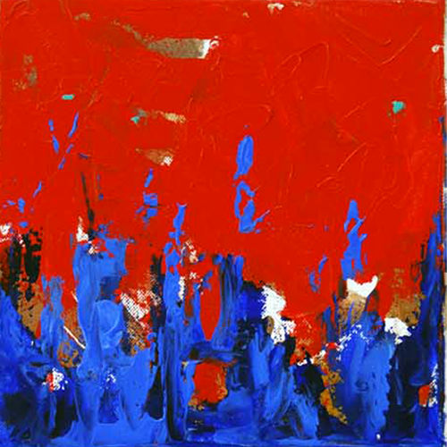 rhythm -1, 12 x 12 inch, sandeep rawal ,12x12inch,canvas,paintings,abstract paintings,paintings for dining room,paintings for office,acrylic color,GAL0251142777