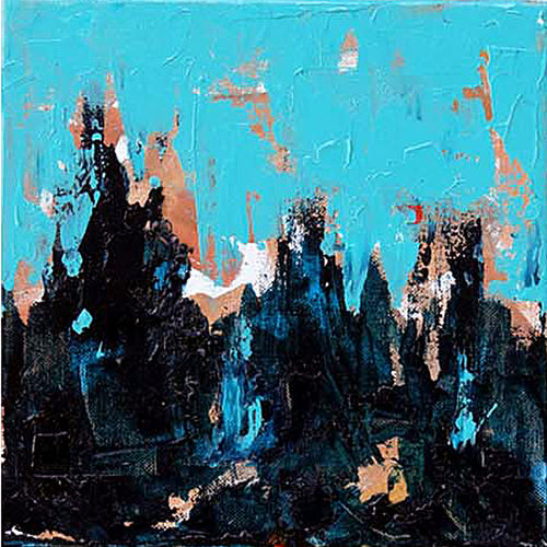 rhythm -2, 12 x 12 inch, sandeep rawal ,12x12inch,canvas,paintings,abstract paintings,paintings for office,acrylic color,GAL0251142778