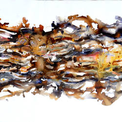 energetic waves of the universe , 60 x 28 inch, sandeep rawal ,60x28inch,canvas,paintings,abstract paintings,paintings for office,paintings for hotel,acrylic color,GAL0251142787