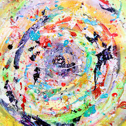 dancing colors , 18 x 18 inch, sandeep rawal ,18x18inch,canvas,paintings,abstract paintings,paintings for kids room,acrylic color,GAL0251142841