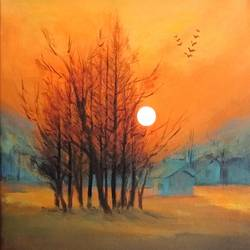 nature, 13 x 16 inch, a.b.  kaser,13x16inch,canvas,paintings,abstract paintings,landscape paintings,nature paintings | scenery paintings,paintings for dining room,paintings for living room,paintings for bedroom,paintings for office,paintings for hotel,paintings for school,paintings for hospital,acrylic color,GAL063642873