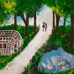 jungle walk with your love , 14 x 18 inch, pooja lokhande,14x18inch,canvas,flower paintings,landscape paintings,nature paintings | scenery paintings,paintings for dining room,paintings for living room,paintings for bedroom,paintings for office,paintings for bathroom,paintings for kids room,paintings for hotel,paintings for kitchen,paintings for school,paintings for hospital,paintings for dining room,paintings for living room,paintings for bedroom,paintings for office,paintings for bathroom,paintings for kids room,paintings for hotel,paintings for kitchen,paintings for school,paintings for hospital,acrylic color,GAL0420542899
