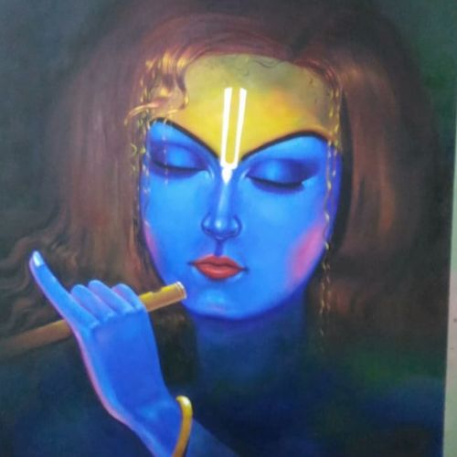 roop, 42 x 50 inch, ani bhanot,42x50inch,canvas,figurative paintings,religious paintings,nature paintings | scenery paintings,radha krishna paintings,paintings for dining room,paintings for living room,paintings for bedroom,paintings for office,paintings for hotel,paintings for school,paintings for dining room,paintings for living room,paintings for bedroom,paintings for office,paintings for hotel,paintings for school,acrylic color,oil color,GAL02307442923