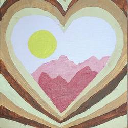 aesthetic brown heart, 6 x 8 inch, juhi iyer,6x8inch,canvas,paintings,wildlife paintings,cityscape paintings,landscape paintings,modern art paintings,still life paintings,nature paintings | scenery paintings,paintings for dining room,paintings for living room,paintings for bedroom,paintings for office,paintings for bathroom,paintings for kids room,paintings for hotel,paintings for kitchen,paintings for school,paintings for hospital,acrylic color,GAL03017542943