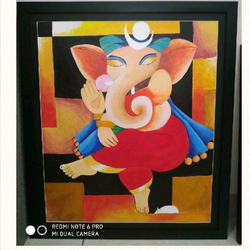 ganesha painting, 26 x 30 inch, bhumika kumawat,26x30inch,thick paper,paintings,abstract paintings,figurative paintings,folk art paintings,modern art paintings,conceptual paintings,religious paintings,portrait paintings,abstract expressionism paintings,art deco paintings,expressionism paintings,pop art paintings,realism paintings,street art,ganesha paintings | lord ganesh paintings,contemporary paintings,realistic paintings,paintings for dining room,paintings for living room,paintings for bedroom,paintings for office,paintings for bathroom,paintings for kids room,paintings for hotel,paintings for kitchen,paintings for school,paintings for hospital,acrylic color,GAL02800142952