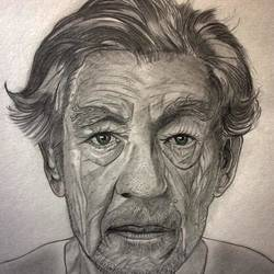 handmade portrait sketches, 8 x 12 inch, bijoy das,portrait drawings,paintings for living room,drawing paper,graphite pencil,8x12inch,GAL015244296