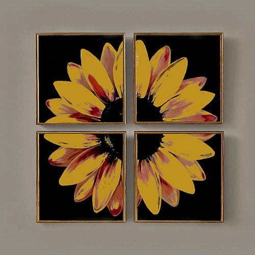4 piece sunflower , 30 x 30 inch, akash bhisikar,30x30inch,canvas,paintings,abstract paintings,flower paintings,multi piece paintings,nature paintings | scenery paintings,abstract expressionism paintings,art deco paintings,paintings for dining room,paintings for living room,paintings for bedroom,paintings for office,paintings for bathroom,paintings for kids room,paintings for hotel,paintings for kitchen,paintings for school,paintings for hospital,acrylic color,GAL01828643082