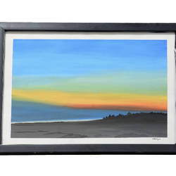 watercolour painting with glass frame, 14 x 12 inch, lavanya gottumukala,14x12inch,thick paper,paintings,figurative paintings,landscape paintings,modern art paintings,conceptual paintings,paintings for dining room,paintings for living room,paintings for bedroom,paintings for office,paintings for kids room,paintings for hotel,paintings for kitchen,paintings for school,paintings for hospital,watercolor,glass,wood,paper,GAL03075243138