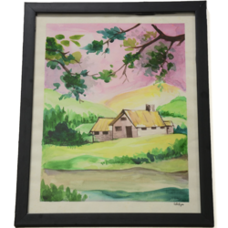 watercolour senary paintings with glass frame, 12 x 14 inch, lavanya gottumukala,12x14inch,thick paper,landscape paintings,modern art paintings,still life paintings,nature paintings | scenery paintings,paintings for dining room,paintings for living room,paintings for bedroom,paintings for office,paintings for kids room,paintings for hotel,paintings for school,paintings for hospital,paintings for dining room,paintings for living room,paintings for bedroom,paintings for office,paintings for kids room,paintings for hotel,paintings for school,paintings for hospital,natural color,watercolor,glass,wood,paper,GAL03075243140