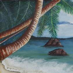 beach view with trees, 15 x 12 inch, preeti kadu,15x12inch,canvas,landscape paintings,nature paintings | scenery paintings,paintings for dining room,paintings for living room,paintings for bedroom,paintings for office,paintings for bathroom,paintings for hotel,paintings for school,paintings for hospital,paintings for dining room,paintings for living room,paintings for bedroom,paintings for office,paintings for bathroom,paintings for hotel,paintings for school,paintings for hospital,acrylic color,GAL03077643167