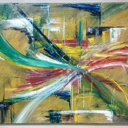wipe out, 20 x 16 inch, tushar  amonkar,20x16inch,canvas,paintings,abstract paintings,paintings for dining room,paintings for living room,paintings for office,paintings for hotel,paintings for hospital,oil color,GAL03080143224
