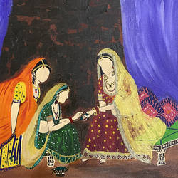 traditional rajasthani painting, 18 x 14 inch, pooja lokhande,18x14inch,canvas,paintings,figurative paintings,folk art paintings,conceptual paintings,still life paintings,contemporary paintings,realistic paintings,paintings for dining room,paintings for living room,paintings for bedroom,paintings for office,paintings for hotel,paintings for kitchen,paintings for school,paintings for hospital,acrylic color,GAL0420543241