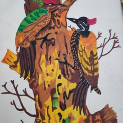 woodpeckers , 10 x 14 inch, supriya barsode,10x14inch,drawing paper,wildlife paintings,paintings for dining room,paintings for living room,paintings for bedroom,paintings for office,paintings for bathroom,paintings for kids room,paintings for hotel,paintings for kitchen,paintings for school,paintings for hospital,paintings for dining room,paintings for living room,paintings for bedroom,paintings for office,paintings for bathroom,paintings for kids room,paintings for hotel,paintings for kitchen,paintings for school,paintings for hospital,pen color,paper,GAL02914343246