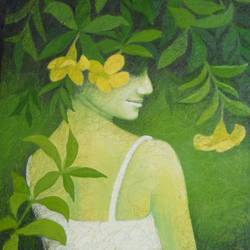 untitle 2, 20 x 24 inch, swarnali sen,20x24inch,canvas,paintings,figurative paintings,acrylic color,GAL03093943295