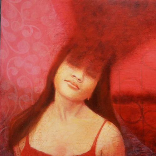untitle 8, 20 x 24 inch, swarnali sen,20x24inch,canvas,paintings,figurative paintings,acrylic color,GAL03093943301