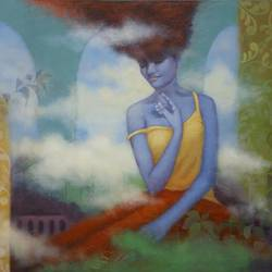 untitle 9, 24 x 30 inch, swarnali sen,24x30inch,canvas,paintings,figurative paintings,acrylic color,GAL03093943302