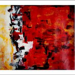 royal abstract 1, 24 x 21 inch, paresh more,abstract paintings,paintings for living room,paintings for office,canvas,acrylic color,24x21inch,GAL09974331