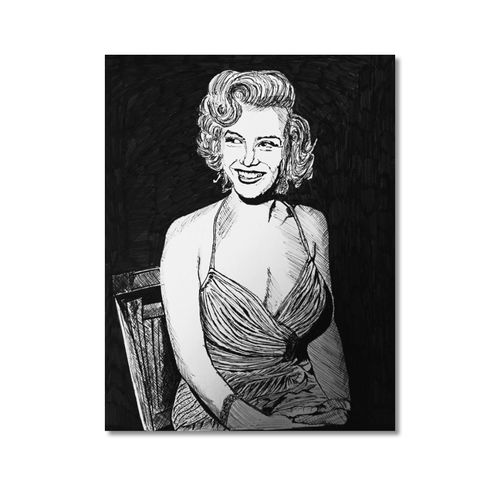 smiling marlin monroe ink art, 11 x 15 inch, akash bhisikar,11x15inch,thick paper,paintings,figurative paintings,modern art paintings,multi piece paintings,religious paintings,portrait paintings,art deco paintings,expressionism paintings,photorealism paintings,photorealism,pop art paintings,portraiture,realism paintings,contemporary paintings,realistic paintings,love paintings,paintings for dining room,paintings for living room,paintings for bedroom,paintings for office,paintings for bathroom,paintings for kids room,paintings for hotel,paintings for kitchen,paintings for school,paintings for hospital,ink color,pen color,photo ink,ball point pen,GAL01828643336