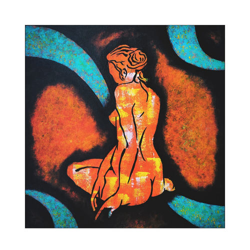 figurative abstract women, 18 x 18 inch, akash bhisikar,18x18inch,canvas,paintings,abstract paintings,figurative paintings,modern art paintings,multi piece paintings,abstract expressionism paintings,art deco paintings,pop art paintings,portraiture,contemporary paintings,love paintings,paintings for dining room,paintings for living room,paintings for bedroom,paintings for office,paintings for bathroom,paintings for kids room,paintings for hotel,paintings for kitchen,paintings for school,paintings for hospital,acrylic color,GAL01828643339