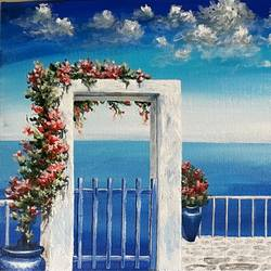 vacation with sa, 30 x 12 inch, priyanka dutt,30x12inch,canvas,paintings,cityscape paintings,paintings for living room,paintings for bedroom,paintings for office,paintings for hotel,acrylic color,GAL087943477