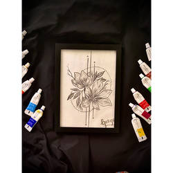 a pencil drawing of  flowers, 9 x 7 inch, ganga  v menon ,9x7inch,thick paper,paintings,abstract paintings,wildlife paintings,figurative paintings,flower paintings,cityscape paintings,modern art paintings,multi piece paintings,conceptual paintings,nature paintings | scenery paintings,abstract expressionism paintings,art deco paintings,cubism paintings,impressionist paintings,warli paintings,lord shiva paintings,paintings for dining room,paintings for living room,paintings for bedroom,paintings for office,paintings for bathroom,paintings for kids room,paintings for hotel,paintings for kitchen,paintings for school,paintings for hospital,acrylic color,ceramic,charcoal,enamel color,fabric,ink color,instant batik,mixed media,oil color,pastel color,pencil color,photo ink,poster color,watercolor,ball point pen,graphite pencil,coffee,sand,GAL03108743542