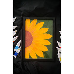 a acrylic painting of sunflower , 11 x 8 inch, ganga  v menon ,11x8inch,canvas,abstract paintings,buddha paintings,wildlife paintings,figurative paintings,flower paintings,folk art paintings,foil paintings,cityscape paintings,landscape paintings,modern art paintings,multi piece paintings,conceptual paintings,religious paintings,still life paintings,portrait paintings,nature paintings | scenery paintings,tanjore paintings,art deco paintings,cubism paintings,dada paintings,expressionism paintings,illustration paintings,impressionist paintings,minimalist paintings,photorealism paintings,pop art paintings,portraiture,realism paintings,street art,surrealism paintings,animal paintings,contemporary paintings,love paintings,horse paintings,dog painting,water fountain paintings,paintings for dining room,paintings for living room,paintings for bedroom,paintings for office,paintings for bathroom,paintings for kids room,paintings for hotel,paintings for kitchen,paintings for school,paintings for hospital,paintings for dining room,paintings for living room,paintings for bedroom,paintings for office,paintings for bathroom,paintings for kids room,paintings for hotel,paintings for kitchen,paintings for school,paintings for hospital,acrylic color,GAL03108743548