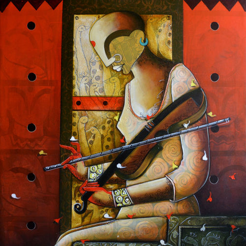 rhythmic reverberations 5, 36 x 42 inch, anupam  pal,36x42inch,canvas,abstract paintings,figurative paintings,modern art paintings,conceptual paintings,religious paintings,still life paintings,paintings for dining room,paintings for living room,paintings for bedroom,paintings for office,paintings for bathroom,paintings for kids room,paintings for hotel,paintings for kitchen,paintings for school,paintings for hospital,paintings for dining room,paintings for living room,paintings for bedroom,paintings for office,paintings for bathroom,paintings for kids room,paintings for hotel,paintings for kitchen,paintings for school,paintings for hospital,acrylic color,charcoal,GAL08243560