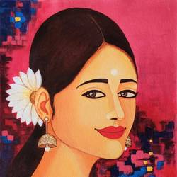 elakshi-2, 12 x 16 inch, anjali  surana,12x16inch,canvas,figurative paintings,paintings for dining room,paintings for living room,paintings for bedroom,paintings for office,paintings for bathroom,paintings for kids room,paintings for hotel,paintings for kitchen,paintings for school,paintings for hospital,paintings for dining room,paintings for living room,paintings for bedroom,paintings for office,paintings for bathroom,paintings for kids room,paintings for hotel,paintings for kitchen,paintings for school,paintings for hospital,acrylic color,GAL03088143576
