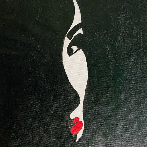 magical face, 12 x 17 inch, ashwini kolkondi,12x17inch,canvas,paintings,expressionism paintings,acrylic color,GAL03119543726