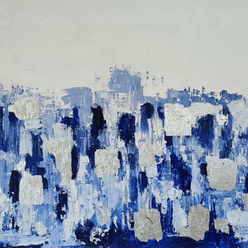 depth of water , 36 x 24 inch, shefali aggarwal,36x24inch,canvas,paintings,abstract paintings,paintings for dining room,paintings for living room,paintings for bedroom,paintings for office,paintings for bathroom,acrylic color,GAL03125943760